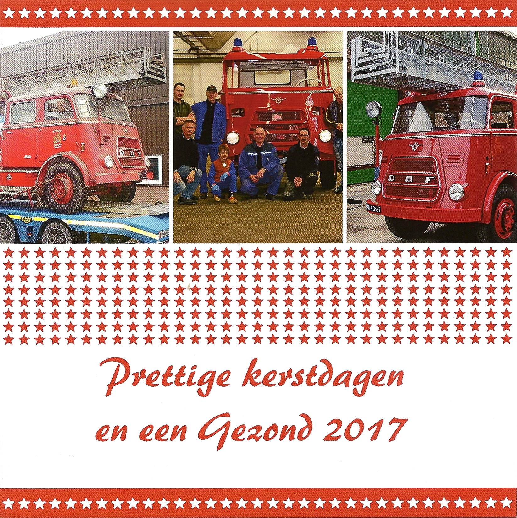 Kerstkaart Ladder 2016